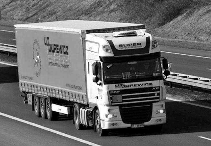 Usługi transportu międzynarodowego - Suwałki